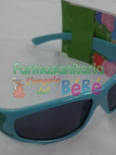 "<p>Peppa pig - Occhiali <strong style=""background-color: initial;"">George pig</strong> con protezione UV 400.</p>"
